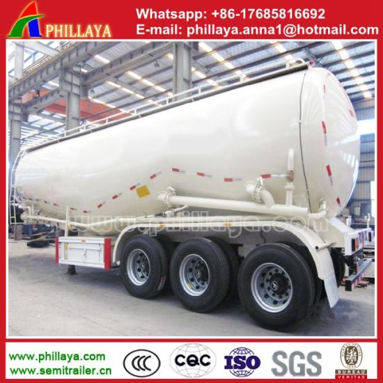 Powder Tank Bulk Cement Truck Tanker Trailer for Sale pictures & photos