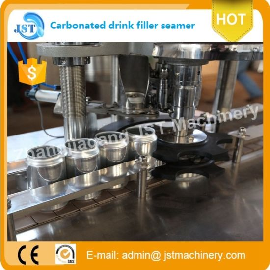 Automatic Can Juice Filling Production Line pictures & photos
