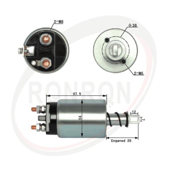 Starter Solenoid Switch For Hitachi Starters