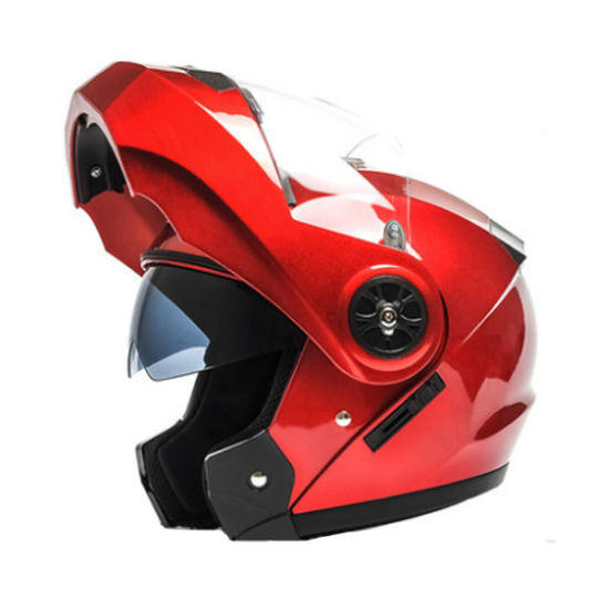 Fashion Design safety Motorcycle Helmets with ABS Material