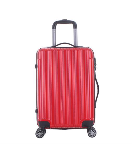 Newly Designed Aluminum Trolley Suitcase, Travel Spinner Luggage Set (XHP131)