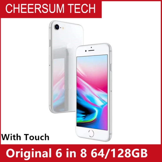 """Original Refurbished 6 in 8 Mobile Phone 4.7"""" 1GB RAM 64/128GB ROM Ios 8 with Touch ID"""