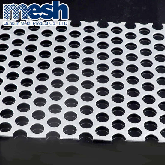 """20 GAUGE 304 STAINLESS PERFORATED SHEET--5//32/"""" HOLES ON 3//16/""""STAGGERED 24/"""" X 24/"""""""