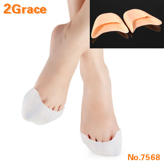 Silicone Toe Pads Ladies Ballet Pointe Foot Protection Care Cover