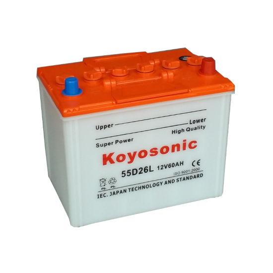 Battery From Car 12V Car Battery High Quality Car Battery 60ah