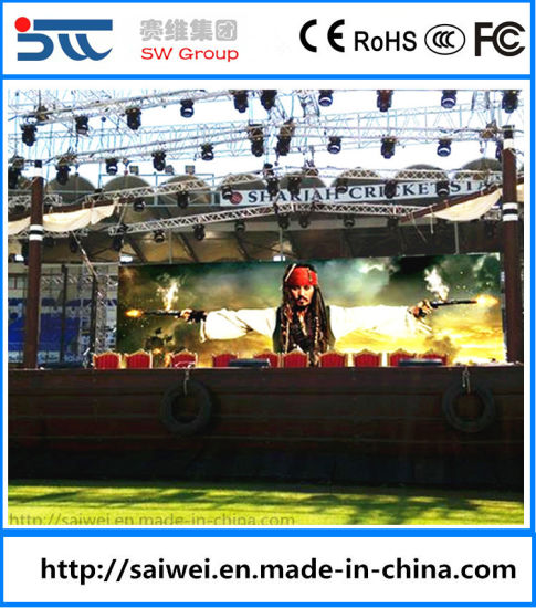 Outdoor P3.91 RGB Video Display Rental LED Display Billboard Modules /LED Panel/LED Sign/LED Screen 500*1000 mm