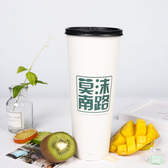 Disposable Single Walled of Coffee Paper Cups in Various Size