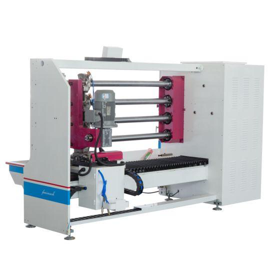 Four-Shaft Automatic Adhesive Tape Cutting Machine (BOPP, Masking, Foam, Double Side Tape Cutting Machine)