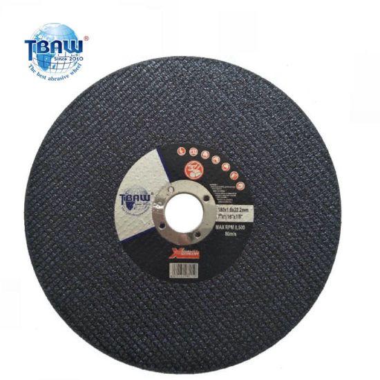 "7""Alumina Cutting Wheel for Stainless Steel Disco De Corte China White Alumina Grinder Cut - off Disc / Cutting Wheel"