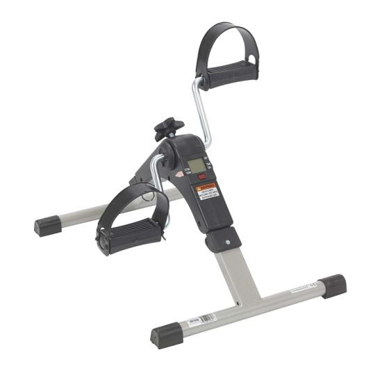 Folding Exercise Peddler with Electronic Display Portable Fitness Equipment Sports Training Tool Esg11546