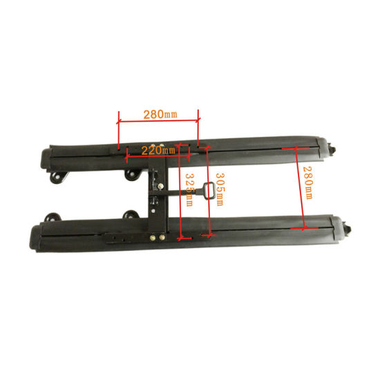 Car Parts Accessories of Long Slider for Caravan with Plastic Cover