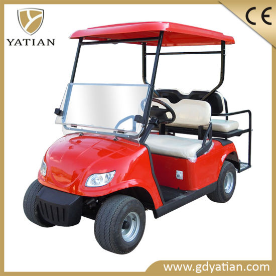 2+2 Utility Seats Electric Golf Cart