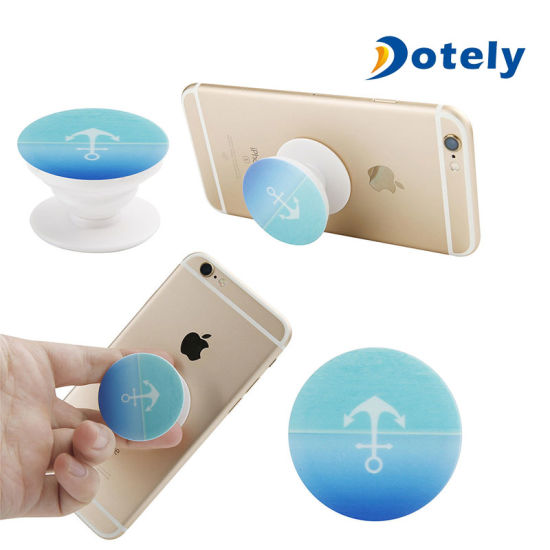 new product 63052 9802a Pop up Socket Grip Expanding Stand for iPhone Android