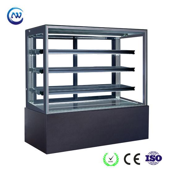 Cold Deli Showcase Refrigerated Cake Display Counter Dessert Fridge (ST760V-M)