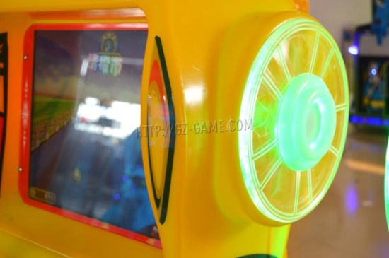 Kids Coin Pusher Game Machine with Ticket Redemption pictures & photos