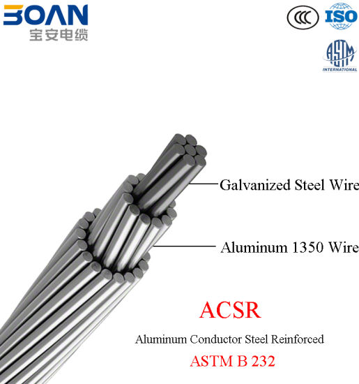 china free samples  ascr overhead bare line conductor  astm b 232