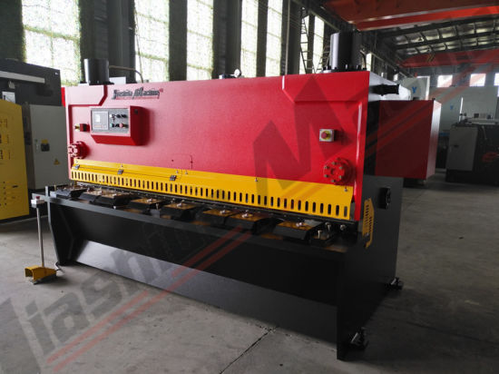 Jiashida 4mm Guillotine Plate Cutting Machine for Sale pictures & photos