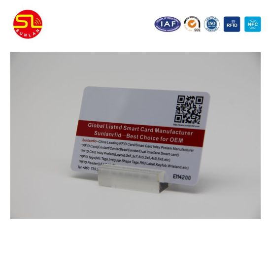 PVC RFID Smart Contact / Contactless IC Card pictures & photos