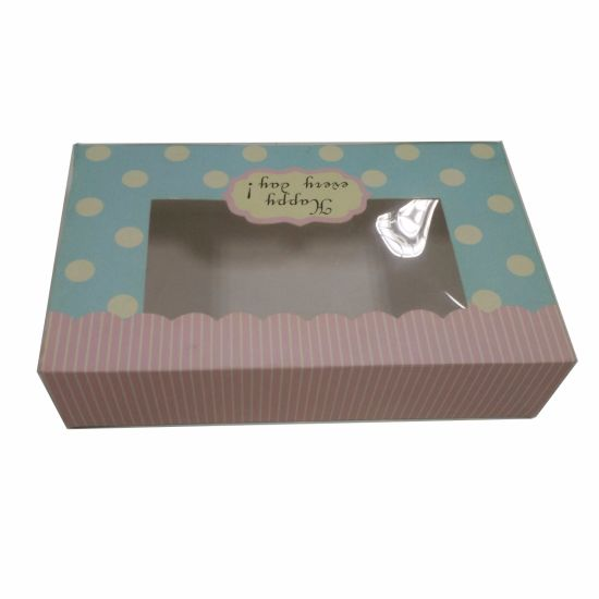 PVC Cardboard Paper Box for Candy pictures & photos