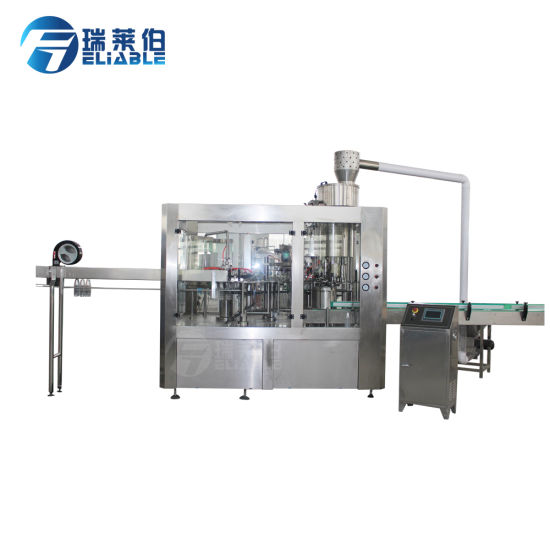 Automatic Carbonated Soft Drink Beverage Filling Machine pictures & photos