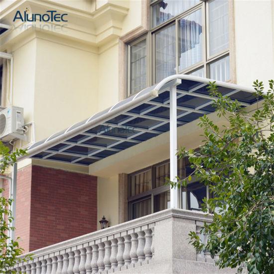 Aluminum Polycarbonate Balcony Patio Cover