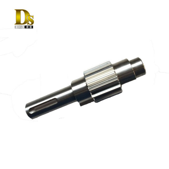 Densen Customized OEM Forging Steel Axles Shaft, Forging SS316 Steel Bearing Shaft Axle