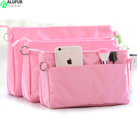 Large Expandable Insert Bag Organizer for Purses Backpack