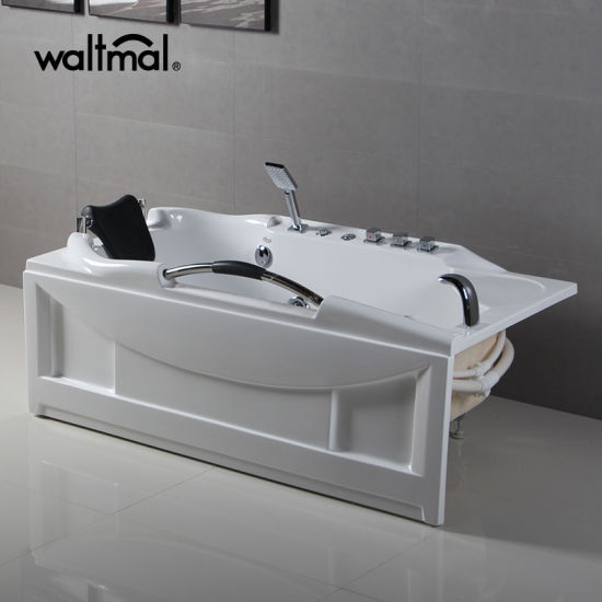 china cupc approved high quality rectangle whirlpool massage bathtub