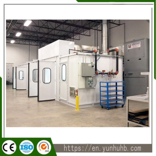 Ce Certified Customized Downdraft Automotive/Truck/Bus/Furniture Paint Booth