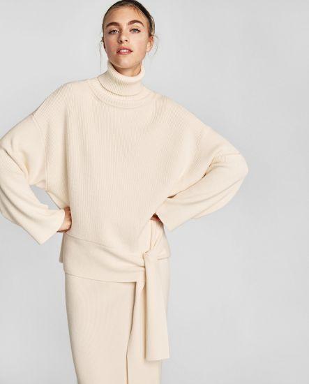 Woman Fashion Style Winter Wool Sweater Dress (RS-034)