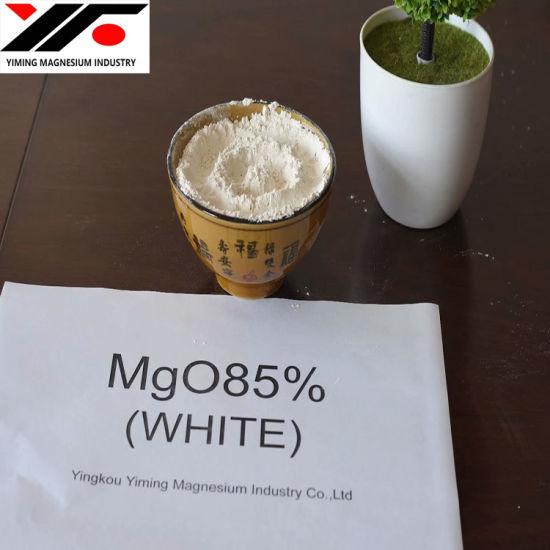 Light Burned Magnesia CCM 92% 96% White Bulk Magnesium Oxide