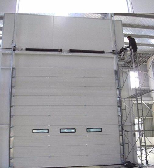 China Professional Windproof Turbine Metallic Rolling Door - China