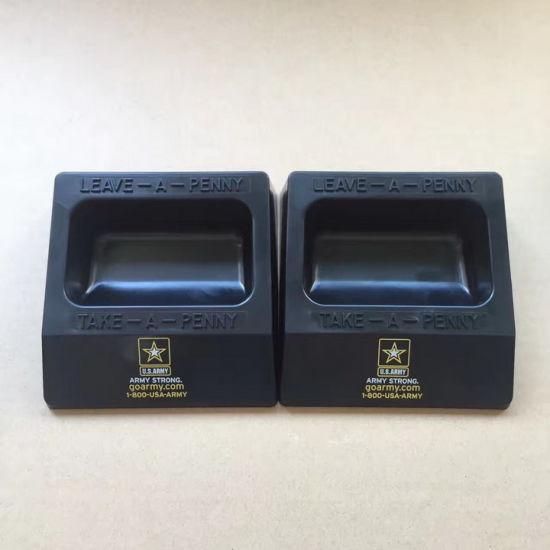 Small Plastic Money Box with OEM Brand