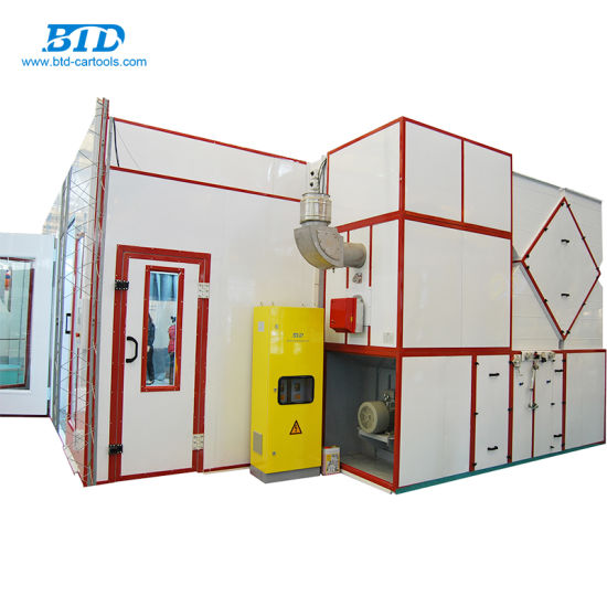 China High Quality Car Paint Oven For Sale China Spray Booth