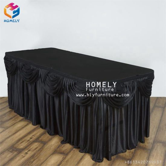 China Polyester Factory Direct Price Wholesale Table Cloth Table