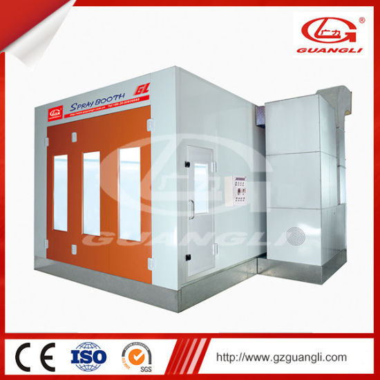 Electric Heating System Body Shop Equipment Mobile Paint Booth