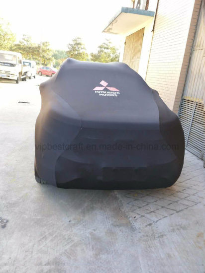 2/3/4 Surface Elastic Material/Spandex Car Cover, Bi-Stretch / 2 Way Stretch Car Cover Hot Sell to Germany/UK