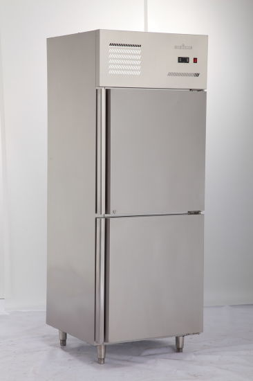 Kitchen Equipment Commercial Four Door Stainless Steel Upright Freezer Deep  Freezer