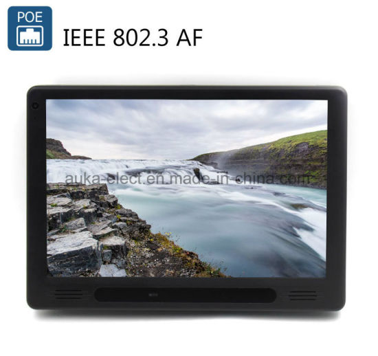 China 10 Inch Wall Mount Poe Tablet PC Support NFC Reader