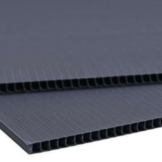 China Reusable 2mm And 3mm Corflute Twinwall Hollow Plastic Or Pp