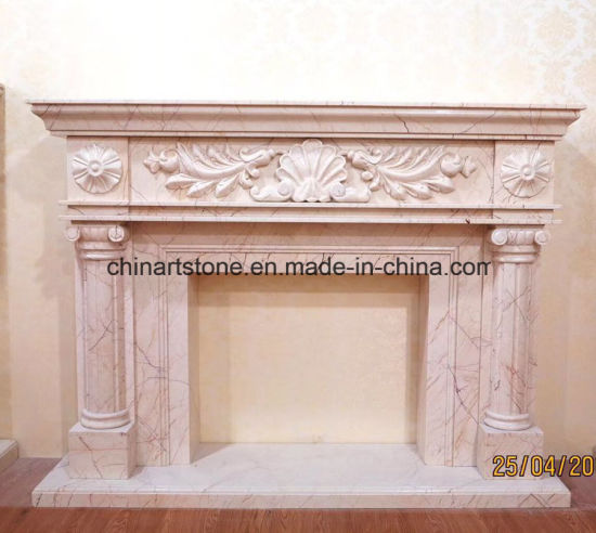 Marble Stone Fireplace pictures & photos
