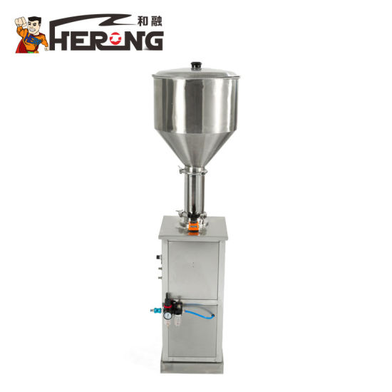 Hero Brand E Liquid Bottle Line Wholesale Rotary Cappuccinoyoghurt Cup Automatic Ointment Jam in Sachet Filling Machine