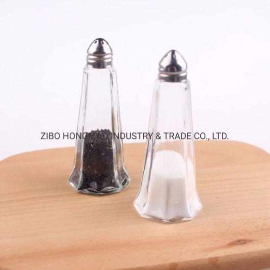 Kitchen Cruet/Glass Spice Shaker Pepper Salt Bottles