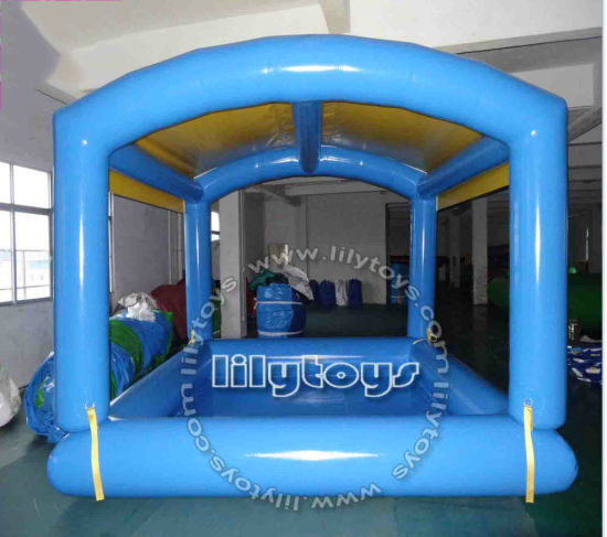 Swimming Pool Inflatable with Top Cover for Outdoor