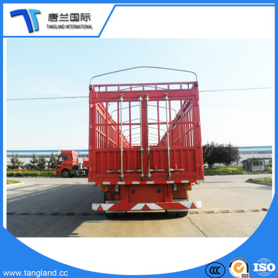 China 3 Axle Warehouse-Type/Board/Stake/Fence Semi Trailer Transport