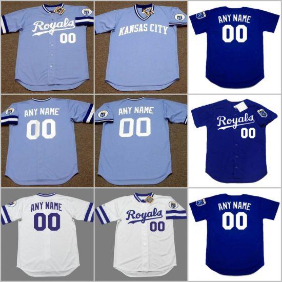 8249205fd China George Brett Bo Jackson Cusomized Throwback Baseball Jersey ...