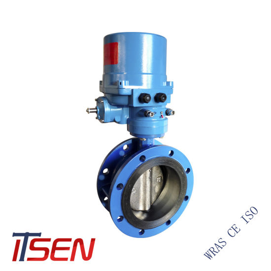 Double Flange Butterfly Valve with Lever / Gear Box / Worm Gear / Electric Opreator