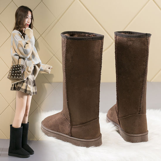 Snowshoes for Women with High Boots Warm Shoes 33 Cm High