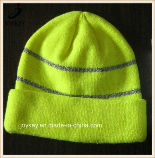 Fashion Customized 100% Abrylic Knitted Winter Hat