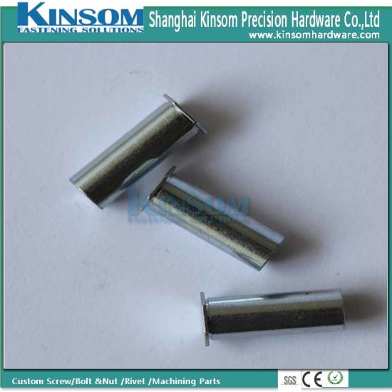Hexagon Interal Thread Riveting Nut with Blue Zinc Coating pictures & photos
